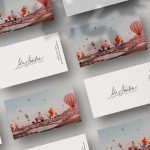 Ida Josefin - Minimalistic Business Cards for Creative Digital Agency