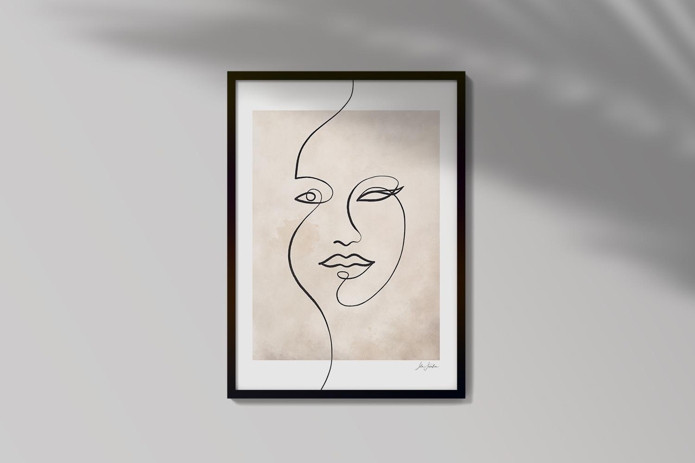 Natta Line Art